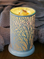 Wax Burner - Forest White Owlchemy Electric wax warmer with light & dimmer