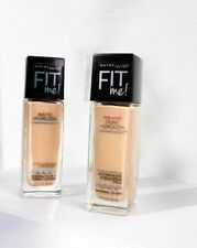 MAYBELLINE FIT Me! Dewy+Smooth / Matte+Poreless CHOOSE YOUR SHADE 1.0 fl oz