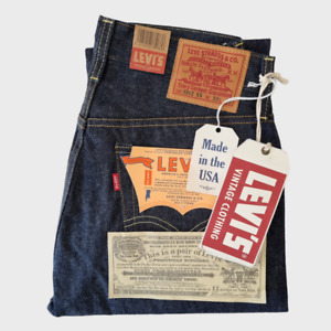 NWT LVC Levi's Vintage Clothing 1954 501 Size W30L32 Selvedge Big E Made in USA