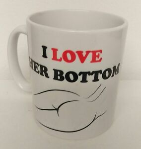 Valentines Day,Christmas,Love Gift Idea for her,i love her Bottom Coffee Mug