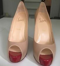 LOUBOUTIN - New Very Prive Nude - 39 - Neuves / New