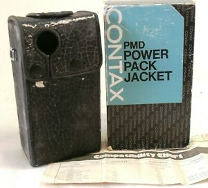 Contax PMD Power Pack Jacket boxed EXC- #38558