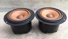 Pair Pioneer Alnico FB Midrange Speakers 12-101F-2 Good Drivers 7.4 / 7.6 DCR CS