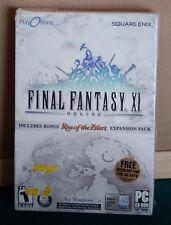 Final Fantasy 11 P C Game Teen Bonus Items