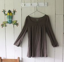 Sonoma Lifestyle Brown Long Sleeve  Top Size M