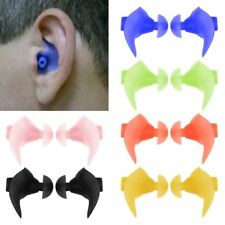 Soft Silicone Anti Noise Foam Ear Plugs For Swim Work Sleep Box Reusable Comfy.