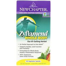 New Chapter, Zyflamend Whole Body, 120 Vegetarian Capsules