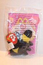 McDonald's Ty Beanie Bumble The Bee Toy Animal Happy Meal # 6 Series Collectible