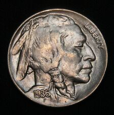 1936-D Buffalo Nickel, Gem BU++