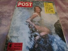 PICTURE POST MAGAZINE 11th Aug 1956 Cover BARBARA SHELLEY A starlet in Italy