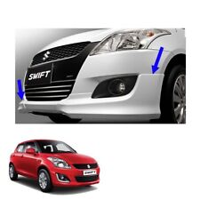 Front Side Skirt V2 RS Style Painted 2 Pc For Suzuki Swift Hatchback 2012 - 2016
