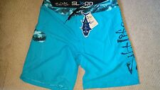 NEW MEN'S SALT LIFE SLX-QD AQUATRUNKS SIZE 36  BOARD SHORTS