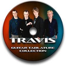 Travis Rock Guitar Tab Tablatura canción libro CD de software