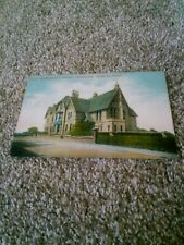 Old Postcard North Staffordshire Nurses Institution Stoke On Trent