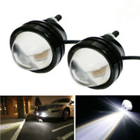 2 x Xenon White 5W High Power Bull Eye DRL Fog Super Light Daytime Driving Light