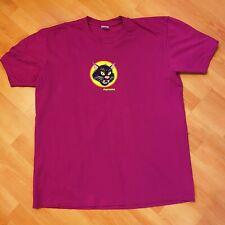 Supreme Black Cat Tee T Shirt XL Extra Large Magenta