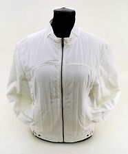Jacke Calvin Klein Jeans Bikerjacke Polyester weiß Gr. XXL