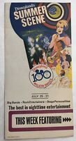 Disneyland Walt Disney Brochure / Flyer Summer Scene The Supremes Ray Price
