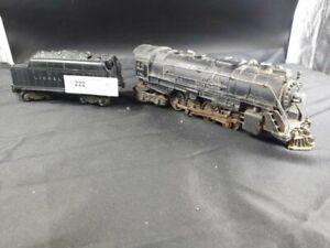 Lionel Post-Guerre 736 O Jauge Berkshire Vapeur Locomotive Et Tender
