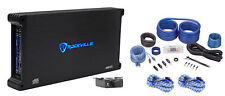 Rockville dB55 4000 Watt/2000w RMS 5 Channel Car Stereo Amplifier+Amp Kit Loud !