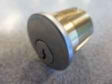 "SC1 KEYWAY 6 PIN 1 1/4"" MORTISE LOCK CYLINDER USED NO KEYS LOCKSPORT"