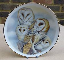 CHINA CLASSICS Barn Owl Collector Plate