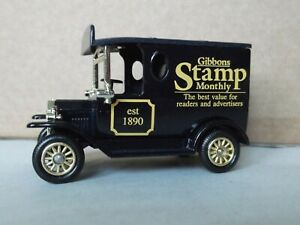Lledo LP6698, Model T Ford Van, Stanley Gibbons, Stamp Monthly, cert 18