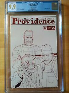 MINT 9.9 PROVIDENCE #12 Rare Red foil leather edition CGC 9.9 White pages 👀👀👀