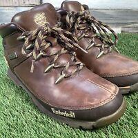 UK7.5 Timberland Brown Leather Chukka Walking Hiking Style Boots - US8.5 EU41.5