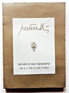 Cesare Peverelli L'atelier de l'artiste Autografato Mostra a Parigi 1976 Calvino