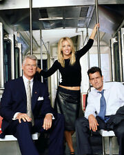 Heather Locklear, Barry Bostwick and Charlie Sheen photo - H2865 - Spin City