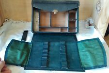 Boite, coffret à peinture en cuir XIXe de la marque Rimmel 96, Strand London