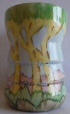 Beswick Ware Vase pastel colour scene very pretty VGC