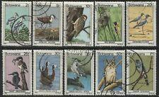 Botswana various 1978 Birds used to 1 P