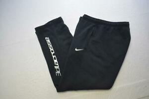 Nike Lacrosse Sweat Pants Cotton Blend Athletic With Pockets Mens Size XL