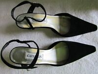 Womens Patent Leather Pumps Pointed Toe High heels Sexy Club Shoes Black Size 8M