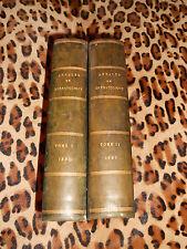 ANNALES DE DERMATOLOGIE ET DE SYPHILIGRAPHIE, 3e série, tome 1 et 2 - 1890-1891