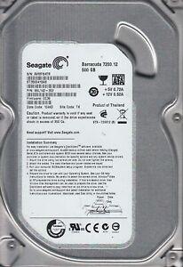 """Seagate Barracuda 500GB 7200RPM SATA 3Gbps 3.5"""" LFF Hard Disk Drive ST3500418AS"""