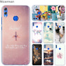 World Map Travel Plans Phone Case for Huawei Honor 9 10 Lite 20i 8X 8A Pro 8C