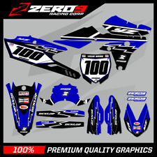 YAMAHA YZ YZF 125 250 450 MOTOCROSS GRAPHICS MX GRAPHICS KIT YAMAHA RETRO BLUE