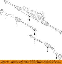 NISSAN OEM 2015 Murano Steering Gear-Inner Tie Rod End D85215AA0A