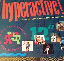 "Hyperactive : The 12"" Dance Album - LP : 12"" - Telstar : 1988 : Dance :Pop, Soul"