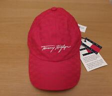 KITH x TOMMY HILFIGER Monogram Cap Hat - Red Adjustable Ronnie Fieg DS BNWT!