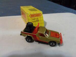 Vintage Matchbox 'Ruff Trek' Holden Truck. Mint in Box.