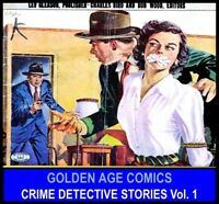LEV GLEASON CRIME DOES NOT PAY COMIC Book Lot DVD Golden Age Justice Detective 1