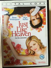 Reese Witherspoon Mark Ruffalo JUST COMO CIELO ~ 2005 Afterlife Esta DVD