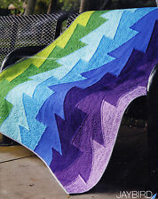 Northern Lights - fabulous modern pieced quilt PATTERN - Jaybird Quilts