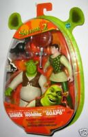 Hasbro Shrek And Male Handsome Action Figure New IN Blister New