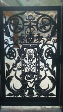 Metal Art Gate Italian Entry Pedestrian Walk Designer Garden Iron Made in USA