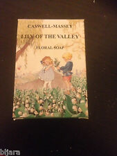 Caswell Massey Lily Of the Valley Floral Soap Bar WITH BOX full size SEE
